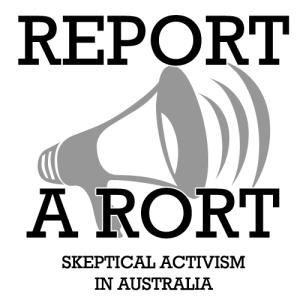 Report a Rort Logo